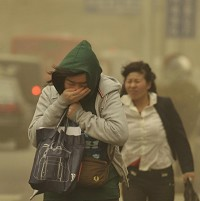 Strongest Sandstorm Hits China