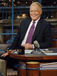 President Obama visits David Letterman's Show