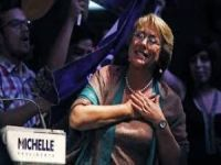 Michelle Bachelet wins presidential elections in Chile. 51769.jpeg