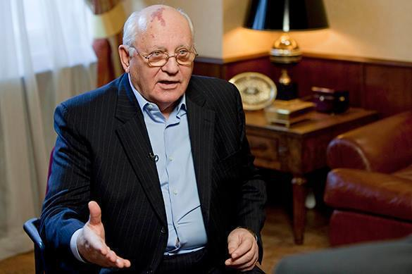 Gorbachev names reason behind crisis in US-Russian relations. 60769.jpeg