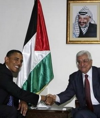 Obama Holds Tripartite Meeting with Netanyahu and Abbas