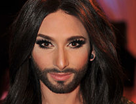 Russian men shave their beards to prove they are not Conchita Wurst. 52770.png