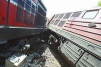 Train slams into another train on outskirts of Rio de Janeiro