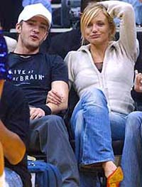 Justin Timberlake and Cameron Diaz announce that they have split