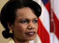 Condoleezza Rice says Palestinian deal complicates peace efforts