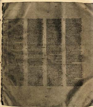 Codex Sinaiticus: The earliest Bible manuscript to appear on