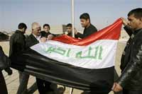 Bush's flag in Baghdad infuriates Iraqis