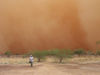 Dust Storm Rages in Australia