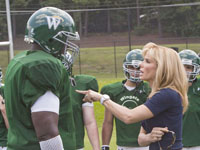 The Blind Side Stars Film and Sport Celebrities