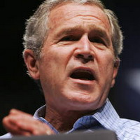 Bush calls himself sympathetic for Iraq's struggles