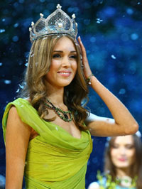 Beauty Queen Ksenia Sukhinova of Russia Detained in Wales as Terrorist