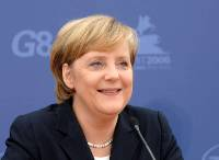 Angela Merkel to make climate protection top priority at G-8 summit