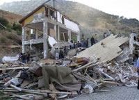 Turkish dormitory buries at least 16