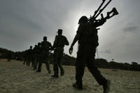 Sri Lankan Civil war: 20 Tamil Tiger rebels killed