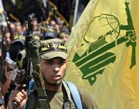 Members of militant Islamic group fire rocket-propelled-grenade at Lebanese checkpoint