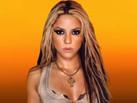 Shakira spices up her dance moves