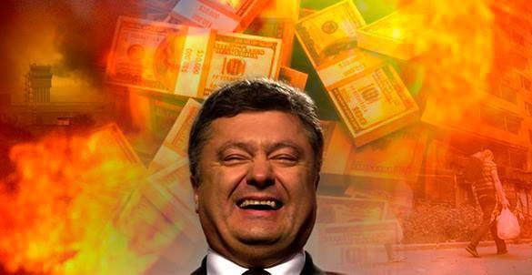 Poroshenko sells Ukraine's independence for  billion. 57786.jpeg