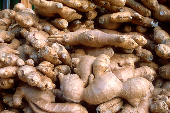 Ginger hundreds times more effective in destroying cancer cells, study says. Ginger against cancer