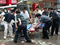 Sixteen killed in terrorist act committed in China on the threshold of Olympic Games