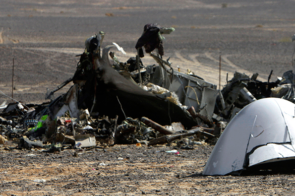 A321 crash: Bomb placed underneath passenger seat. Sinai air crash