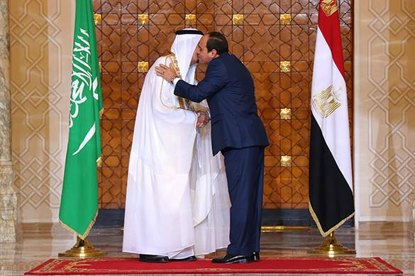Egypt and Saudi Arabia create new pole of influence in the Middle East. 57790.jpeg