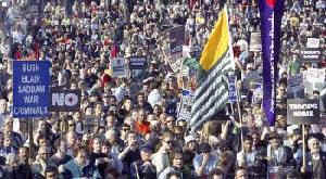Athens anti-war march finishes in police-anarchists clash