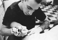 Tattoo artist wants to get a head for special project