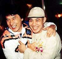 Jackie Chan, Jet Li shrug off comparisons to each other as they film first movie together