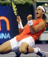 Nadal to miss Davis Cup quarterfinals with injury