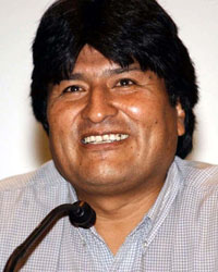 Morales to visit Iran, Russia seeking investment in Bolivian gas