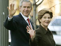 Laura Bush to visit Mideast