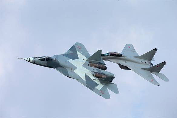 Russia's PAK FA T-50 fighter jet changes rules of the game in aviation. 57796.jpeg