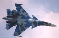 Sukhoi prepares Su-35 fighter jet for MAKS-2007 air show