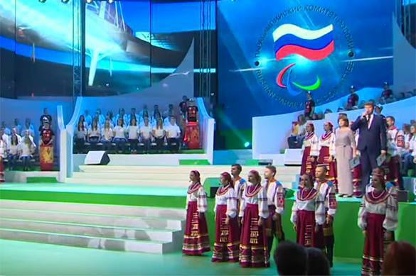 Russia launches its own Paralympic Games. 58799.jpeg