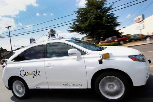 Injury accident with Google driverless car. Google car