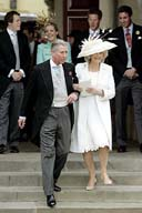 Royal guests in attendance for wedding of Prince Charles' stepdaughter