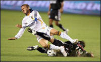 Beckham could miss the rest of the Los Angeles Galaxy's season