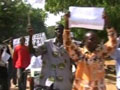 Scores of protesters in Chad remonstrate against French kidnap