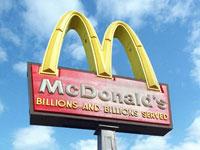 McDonald's sales increase 5.7%