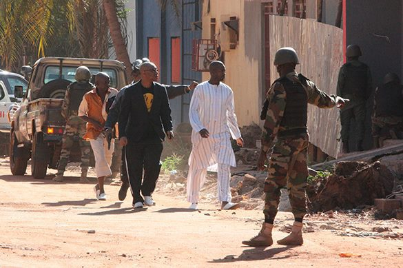 Hostage crisis at Radisson Hotel in Mali: At least 9 killed. Mali hostage crisis