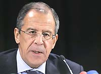 Lavrov warns NATO against compromising Russia's security