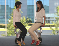 Honda Unveils New Model Of Unicycle - Electrical