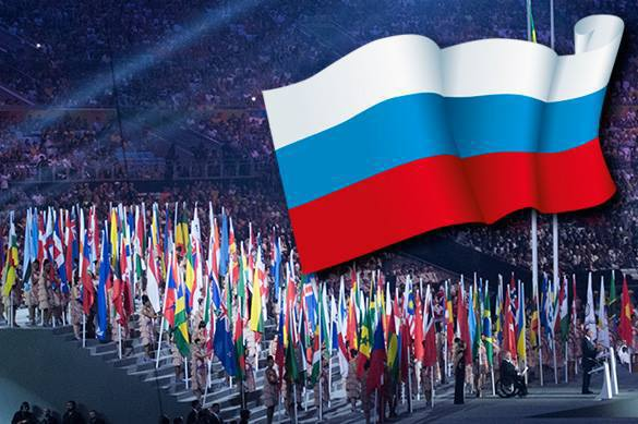 Russian flag in Paralympic Rio: Western contempt and Russian admiration. 58807.jpeg