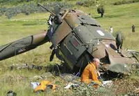 Helicopter crashes at Sierra Leone airport