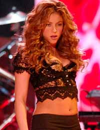 Shakira goes on shopping spree for Indian clothes, books and music
