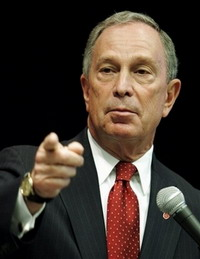 Mayor Michael Bloomberg excites fury by his remark about World Trade Center detective
