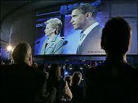 Obama Prevails, Clinton Remains Negative