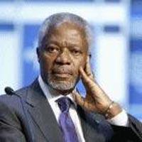Kofi Annan stands against isolation of Iran