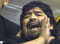 Maradona hospitalized in Buenos Aires