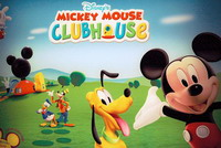 Mickey Mouse and friends help to sell new homes